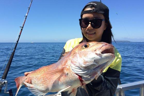 Hauraki gulf fishing report diversity 280116 the for Saltwater fishing report