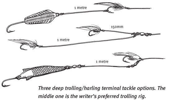 Trout trolling tips and tricks