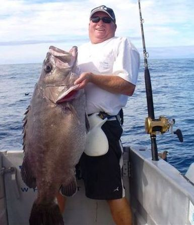 """A nice Bass caught while fishing at White aboard The Gambler"""""""