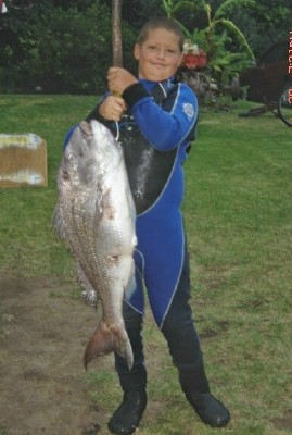My 21lb birthday present from the sea