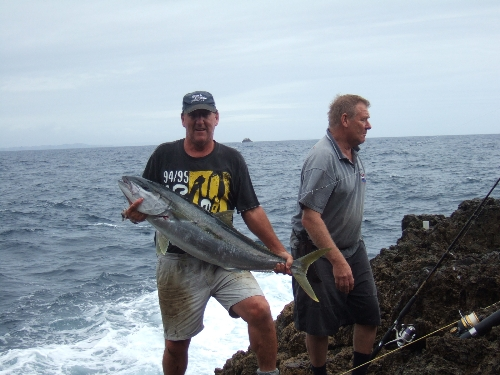 14 kilo's of grunt  released for another fantastic landbased trip