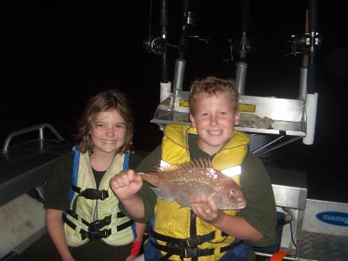 Sharni & Joshs fishing comp