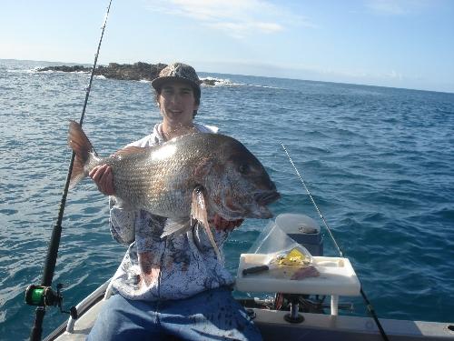 Nice 26lb moocha caught at the Cavalli Islands