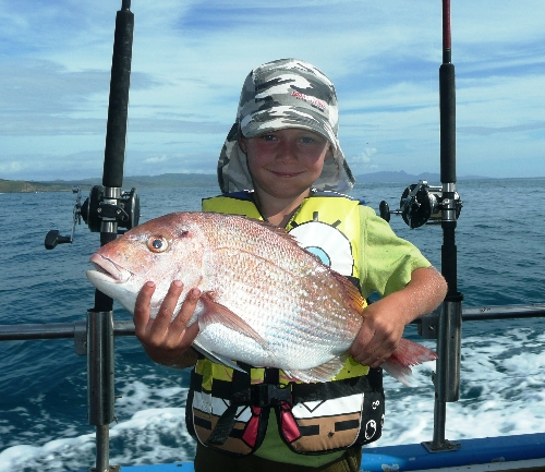 Connor George Woolston knows how to fish!