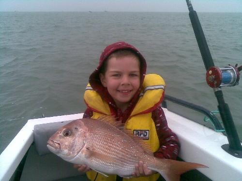 My first competition winning fish (Reel Diamonds Bridge to Bridge comp)