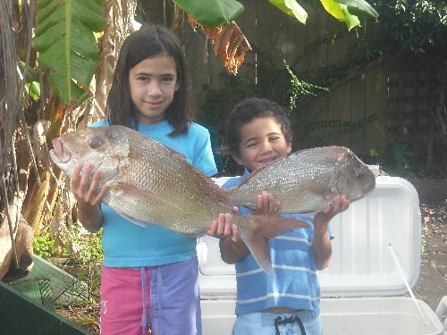 memorable moment kids caught their first fish.