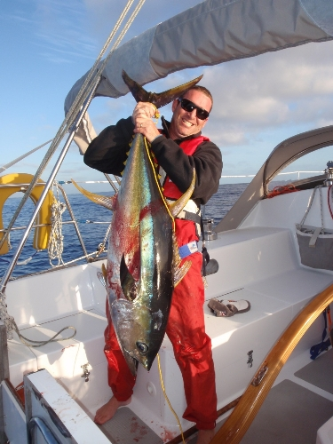 My first Yellowfin!
