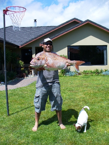 My personal best Snapper 21.5lb of my Kayak