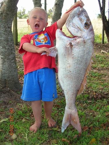 the fish was bigger than my boy!