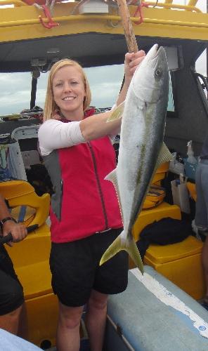 First Kingfish!