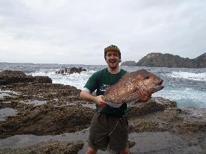 I love rock fishing