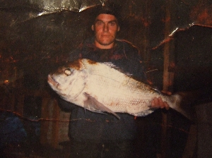 first drop of the day 19.86lbs (16yrs)ago