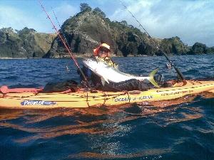 19kg kingi off a kayak