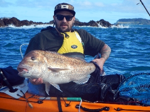 10m shallows water snapper, personal PB and best of the trip.