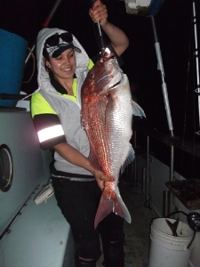 Caught this MONSTER - My first fish - on Te Kuia Charter - 22.04lbs!