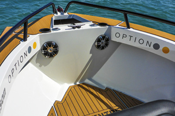 One of the biggest advantages of the centre-console configuration is opening much more of the space in the bow.