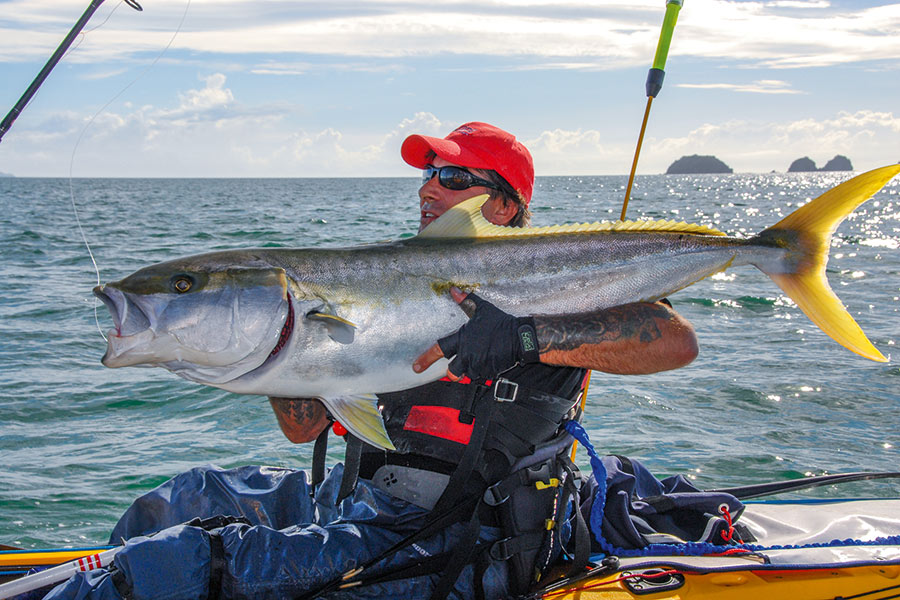 The 'stealth' aspect of kayaks is a massive advantage when targeting big fish.