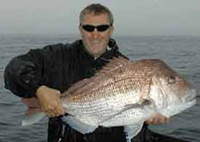 A 26lb snapper from Cape Maria Van Diemen