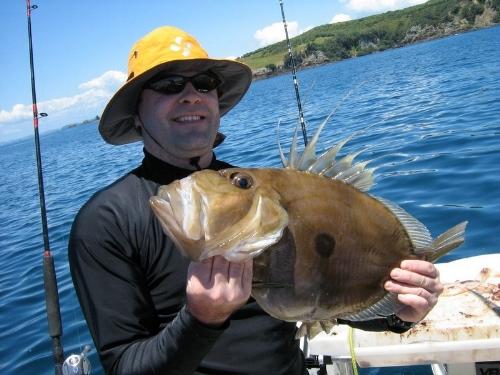 My first Dory 2.6kg caught close to Wooded Island near Tiritiri Matangi.
