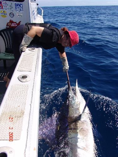 Janes first marlin