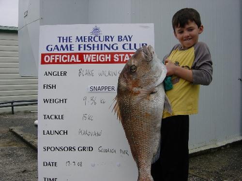 Blakes 9.4kg best so far. 8yrs old fish slayer