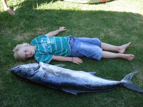 Big Child Small Fish!