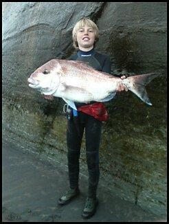 6kg snapper surfcasting 6kg mono