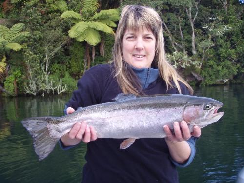 Nice day on Lake Rotoiti,2.88kg.