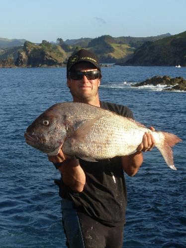 8kg, gotta love fishing off the bricks.