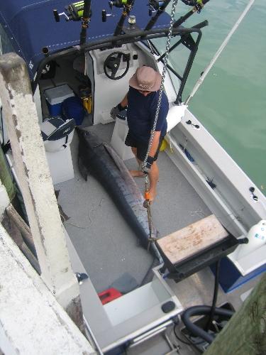 4th heaviest, Tuts small boats 2009