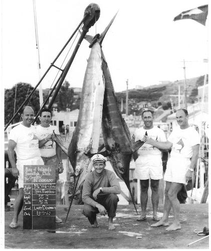 My grandfathers fishing exploits