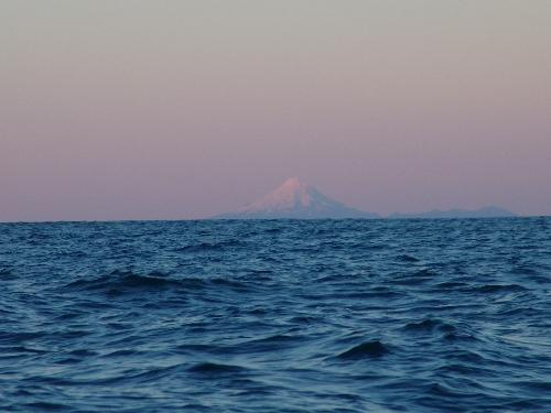 Mt Taranaki dawn on opening day 1 July