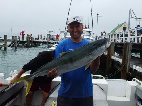 16kg kingfish on 6kg line - 55min