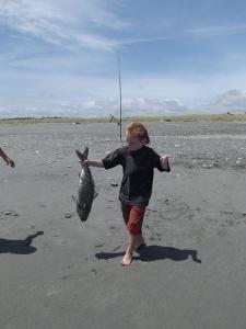 sandy kahawai from westcoast beach. little helper jyvhen duell