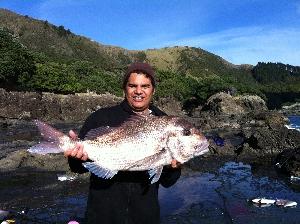 kaine boyd, landed on the rocks 20lb