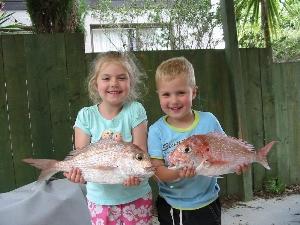 My Kids first fish