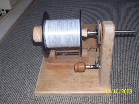 Spooling reels and swaping line the fishing website for Diy fishing line spooler