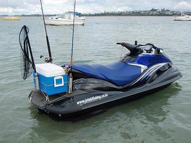 Jetskifishing maria rakino noises sunday 4 5 08 the for Jet ski fishing setup